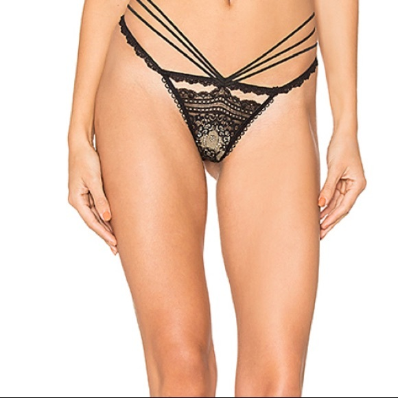 For Love And Lemons Other - For Love & Lemons SKIVVIES Etienne Lace Thong